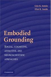 Cover of: Embodied grounding |