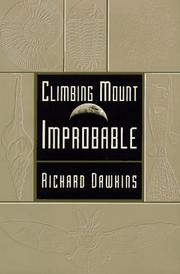 Climbing Mount Improbable by Richard Dawkins
