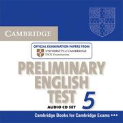 Cover of: Cambridge Preliminary English Test 5 Audio CD Set (PET Practice Tests)