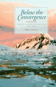 Cover of: Below the Convergence