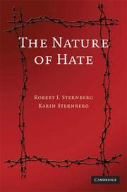 Cover of: The nature of hate