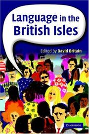 Cover of: Language in the British Isles | David Britain