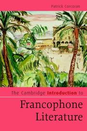 Cover of: The Cambridge Introduction to Francophone Literature (Cambridge Introductions to Literature)