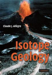 Cover of: Isotope Geology