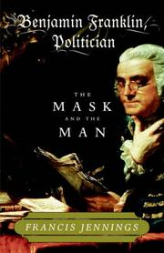 Cover of: Benjamin Franklin, politician