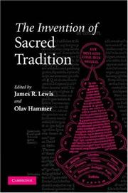 Cover of: The invention of sacred tradition