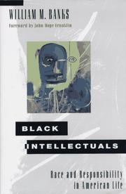 Cover of: Black intellectuals | William M. Banks