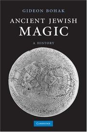 Cover of: Ancient Jewish Magic