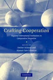 Cover of: Crafting Cooperation |