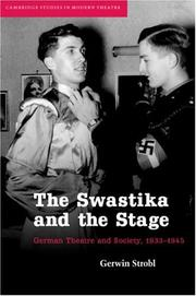 Cover of: The swastika and the stage