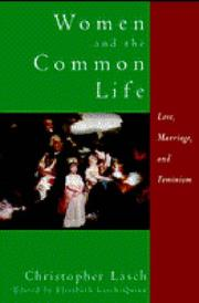 Cover of: Women and the common life