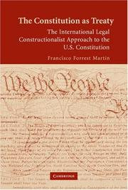 Cover of: The Constitution as Treaty