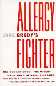 Jane Brody's Allergy Fighter by Jane E. Brody