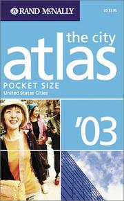 Cover of: Rand McNally City Atlas