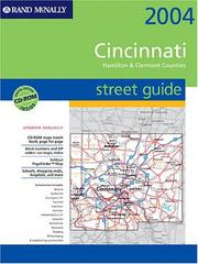 Cover of: Cincinnati/Hamilton & Clermont Counties, Ohio | Rand McNally