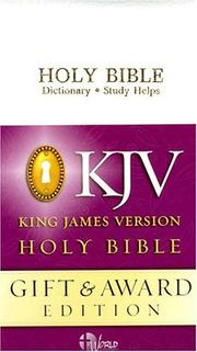 Cover of: KJV Gift and Award Bible |