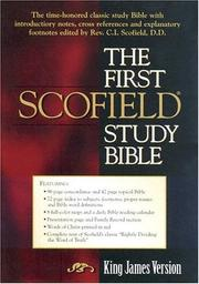 Cover of: KJV First Scofield Study Bible |