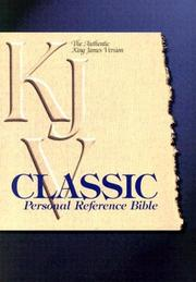 Classic Personal Reference Bible by