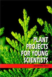 Cover of: Plant Projects for Young Scientists | Salvatore Tocci