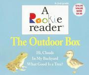 Cover of: The Outdoor Box: Hi, Clouds/In My Backyard/What Good Is a Tree? (Rookie Reader Boxed Sets)