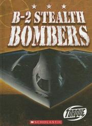 Cover of: B-2 Stealth Bombers (Torque: Military Machines) | Jack David