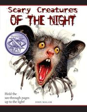 Cover of: Scary Creatures of the Night! (Scary Creatures)