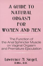 Cover of: A Guide to Natural Orgasm for Women and Men