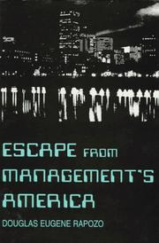 Cover of: Escape from Management