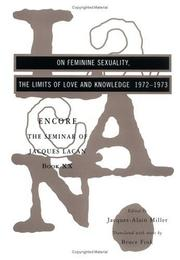 Cover of: On feminine sexuality: the limits of love and knowledge