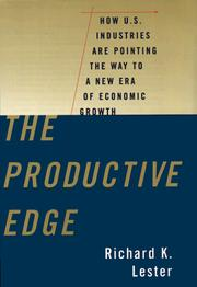 Cover of: The Productive Edge
