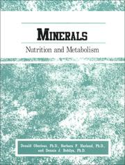 Cover of: Minerals | Donald, Ph.D. Oberleas