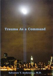 Cover of: Trauma As a Command
