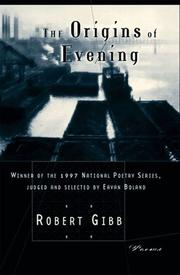 Cover of: The origins of evening
