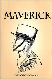 Cover of: Maverick | Vincent Cordon