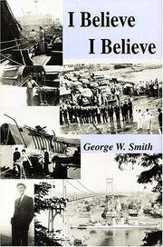 Cover of: I Believe I Believe