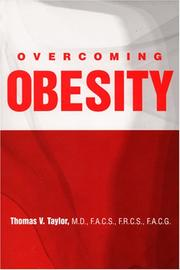 Cover of: Overcoming Obesity | Thomas V., M.D. Taylor