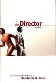 Cover of: The Director | Randolph Deer