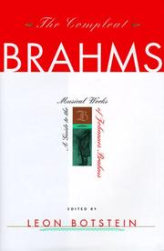 Cover of: The compleat Brahms |