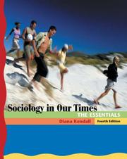 Cover of: Sociology in Our Times