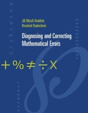 Cover of: Diagnosing and Correcting Mathematical Errors | Jill Mizell Reddish