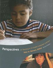 Cover of: Perspectives on Teaching K-12 English Language Learners (2nd Edition) | GOVONI