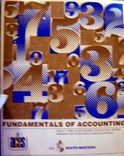 Cover of: Fundamentals of Accounting (Second Edition) |