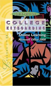 Cover of: Online Learning, Microsoft Word 2000, Lessons 1-60, Individual License | Susie Van Huss