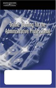 Cover of: Online Training for the Administrative Profession Corporate Version: The Administrative Professional E-Commerce