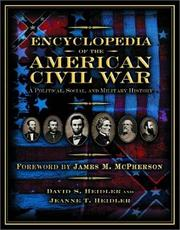 Cover of: Encyclopedia of the American Civil War