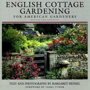 Cover of: English cottage gardening for American gardeners | Margaret Hensel
