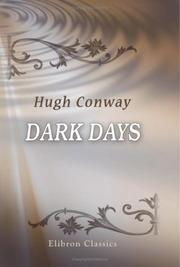 Cover of: Dark days