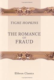 Cover of: The romance of fraud