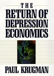 Cover of: The Return of Depression Economics