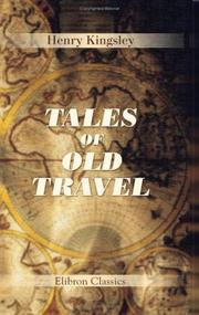 Cover of: Tales of old travel